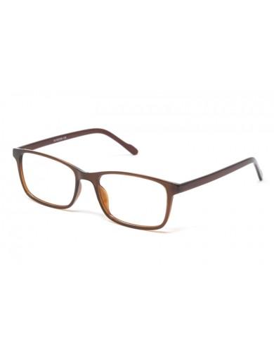 Gafa graduada Brady - gafa de pasta marrón