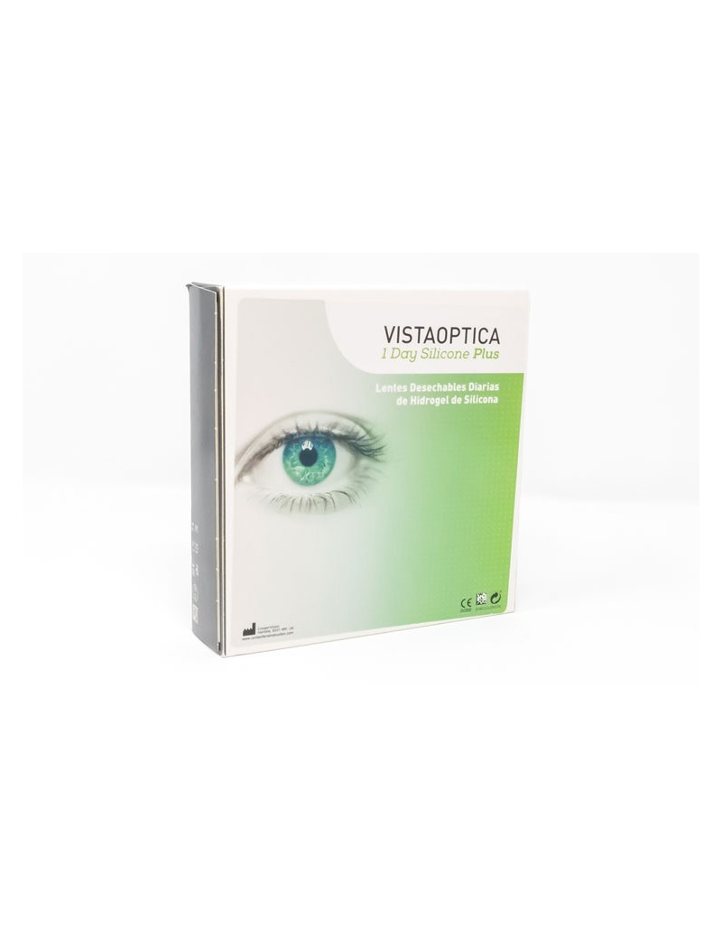 Lente de contacto diaria VISTAOPTICA 1 Day Silicone Plus en pack de 90
