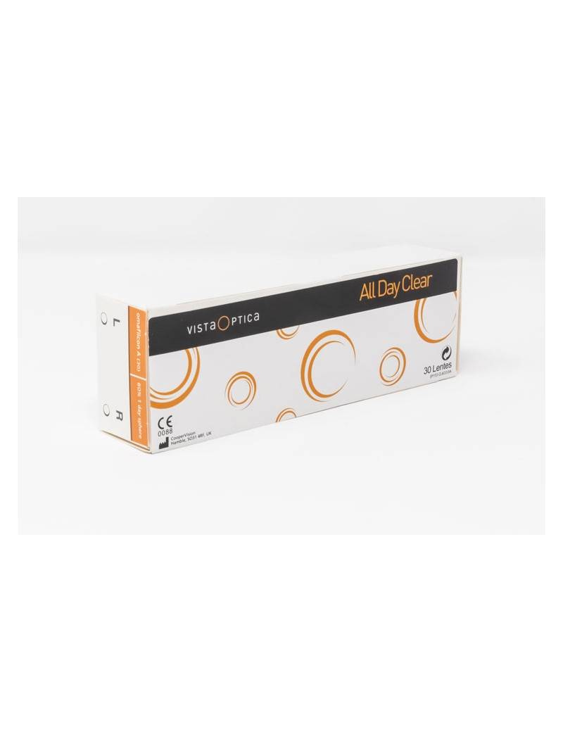Lentes de contacto diarias VISTAOPTICA All Day Clear Pack de 30