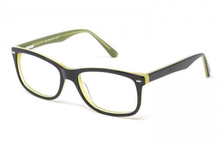 Gafa graduada Marpal - Gafa de pasta negra con interior verde