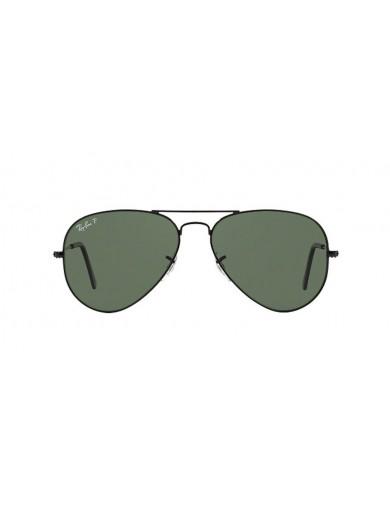 Gafa de sol Ray-Ban 3025 Negra y Cristal verde