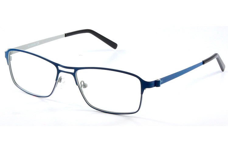 Gafa graduada Dowjones Seymoor; Gafa metálica completa azul