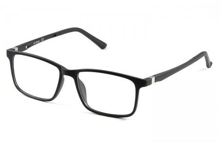 Gafa graduada Optimoda Finch; gafa de pasta con suplemento de sol polarizado imantado en color negro
