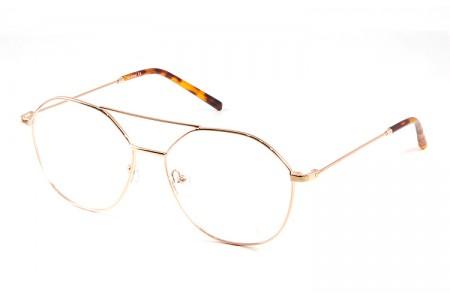 Gafa graduada Optimoda Rose; gafa metálica cobre