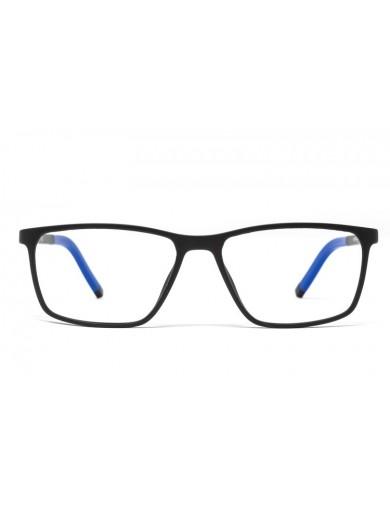 Gafa de lectura - Gafa de pasta Negro y Azul - Frontal