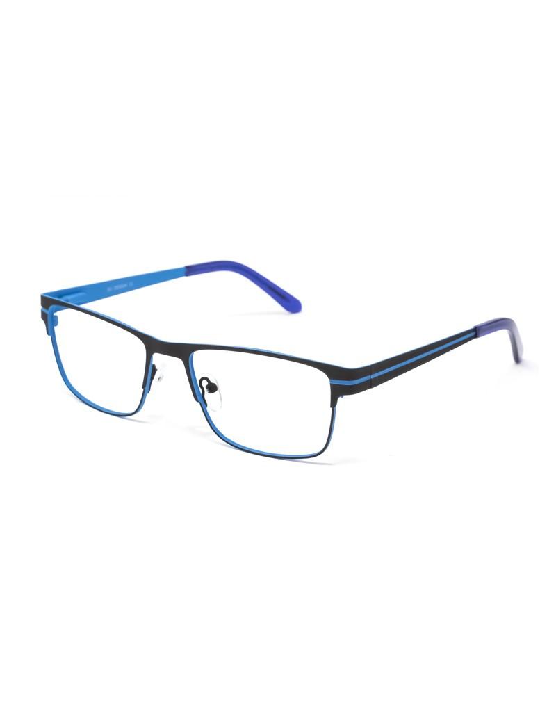 Gafa graduada Bensen - Gafa metálica azul