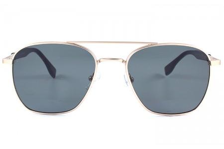 Gafa de sol 0024 - Gafa de sol metálica de color dorada con lentes verdes