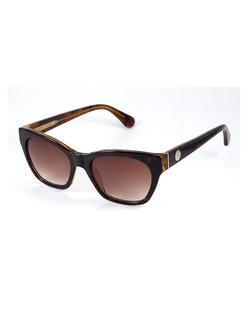 Gafa de sol 1076 - Gafa de sol de pasta de color havanna con lentes marrones