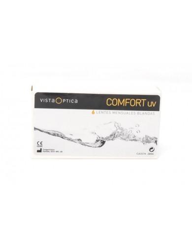 Pack de lentes de contacto VISTAOPTICA Comfort UV pack de 6 más 2 líquido solución única