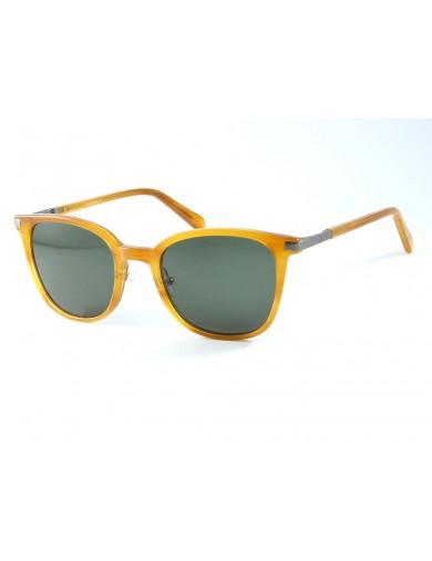 Gafa de sol Chance Haskell 1078 en color Camel y lentes verdes