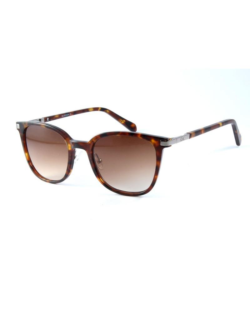 Gafa de sol Chance Haskell 1078 en color marrón y lentes marrones degradadas