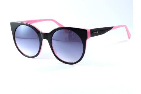 Gafa de sol Chance en color negra y rosa con cristales grises degradados