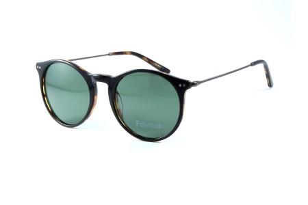 Gafa de sol Chance Raglan en negro con lentes verdes