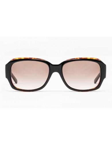 Gafa de sol Zelda - Gafa de pasta marrón con cristales marrones degradados - Frontal