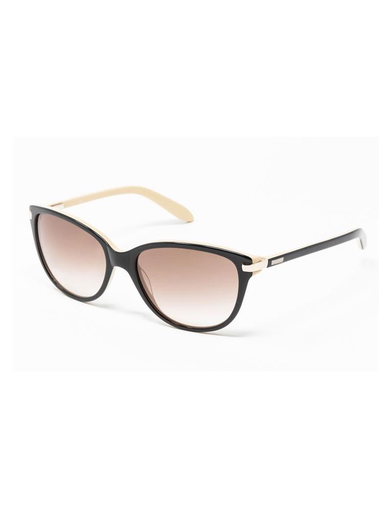 Gafa de sol - Gafa de sol de pasta marrón con lentes marrones degradadas