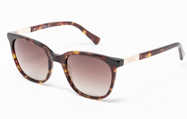 Gafa de sol Percy - Gafa de pasta de color havana y lentes marrones degradadas