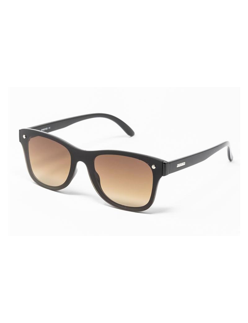 Gafa de sol Logan - Gafa de pasta marrón con pantalla marrón degradada
