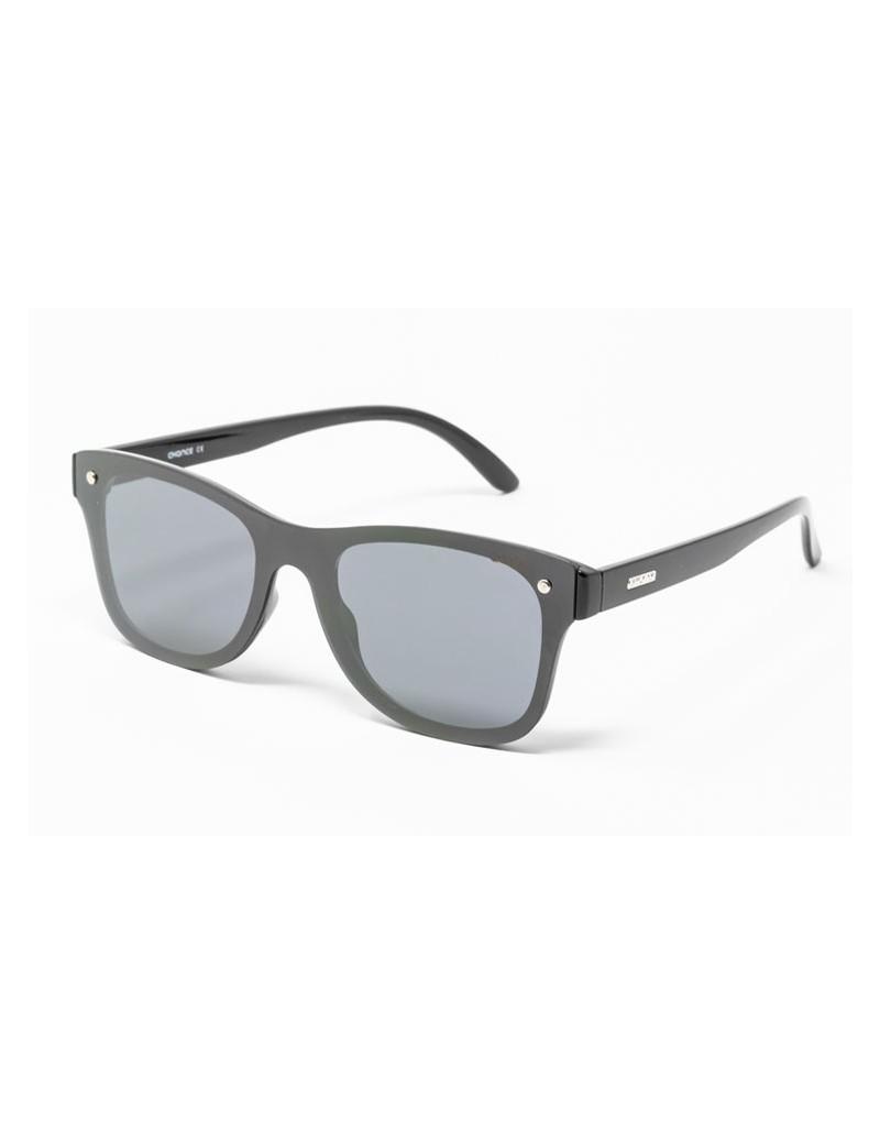 Gafa de sol Logan - Gafa de pasta negra con pantalla negra