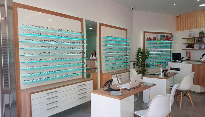 Centro óptico franquiciado a VISTAOPTICA en la ciudad de Ceuta