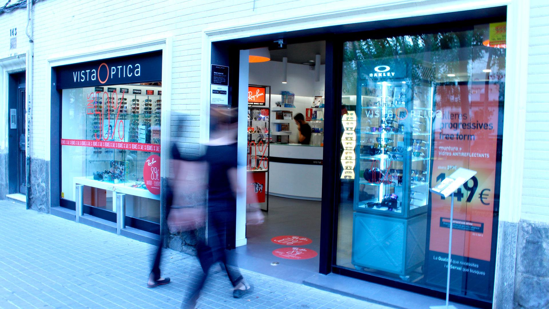 òptica en Barcelona del grupo VISTAOPTICA