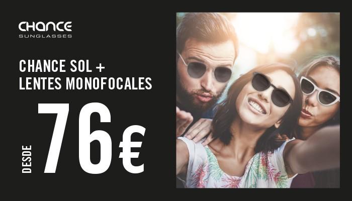 Gafa de sol Chance con lentes monofocales desde 76 €