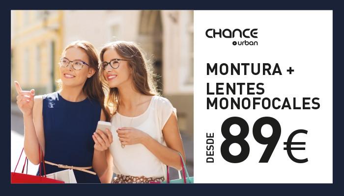 Gafa de sol Chance Urban con lentes monofocales desde 89 €
