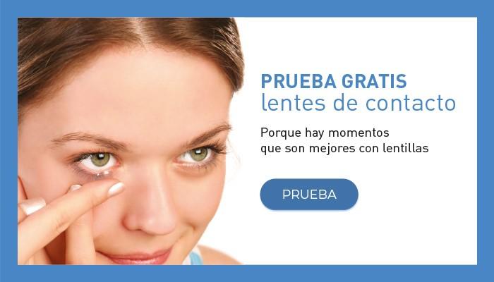 Prueba gratis de lentes de contacto