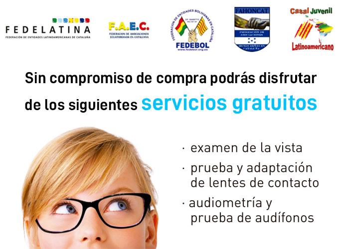VISTAOPTICA y la comunidad latinoamericana en Cataluña